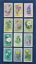 POLAND - 1962 PROTECTED PLANTS - Complete set of 12 - MNH