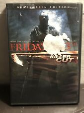 Friday the 13th Killer Cut Widescreen Edition DVD Jared Padalecki Used