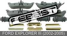 Pad Kit, Disc Brake, Rear - Kit For Ford Explorer Iii (2002-2005)