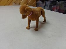 Barbie Doll Happy Family Pet Dog W Bobble Head Golden Lab Euc