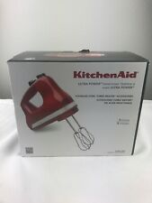 KitchenAid Ultra Power 5-Speed Hand Mixer Empire Red KHM512ER