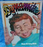 Dynamite Magazine #47 Alfred E. Neuman Happy Birthday Mad Vintage Collectible
