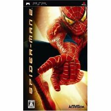 Used PSP  Spider Man 2  SONY PLAYSTATION JAPAN IMPORT