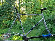 58cm Bianchi Brava Reynolds 520 Chrome-Mo steel frame 55cm c-c 58cm c-t 57cm TT