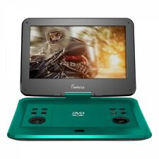 Impecca DVP-1330T 13in Portable Dvd Player, Teal (dvp1330t)