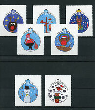 Guernsey 2014 MNH What Christmas Means 7v S/A Set Children's Drawing Competition