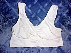 Size L GUC Smooth Form Intimates Pull on Style Wire Free Leisure Bra