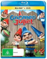 Gnomeo & Juliet - Blu-ray + DVD, 2-Disc Set (VGC) Aus Region B