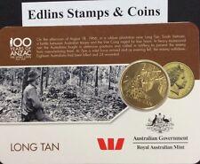 2016 Westpac RAM 25 cent coin - long tan