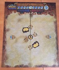 Tanaris Map  World of Warcraft WOW Miniatures Game MAPPA *