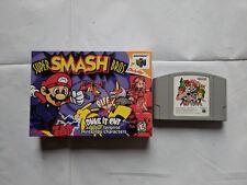 Super Smash Bros / Nintendo 64 / N64 / NTSC-Japanese Import w/ high-quality box