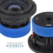 """Hifonics ZRX6D2 6/"""" 16cm Subwoofer Chassis Bass für Gehäuse KFZ Auto"""