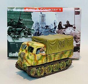 King & Country Summer Raupenschlepper Transporter (KCWS175)  - Mint!