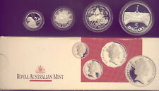 1988 MASTERPIECES IN  SILVER  : 4 PROOF COINS NO   RESERVE!!!