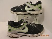 Nike Womens Size 9 Downshifter 4 Running Shoes Gray/White/Lime 472680-003