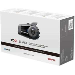 SENA 10C Evo - Combination Bluetooth Intercom and Camera System