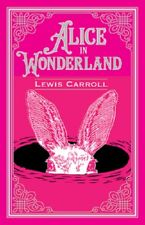 Alice's Adventures in Wonderland & Through the Looking Glass Leather Bound Book