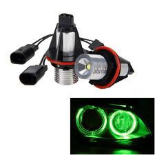 Green LED Bulbs Fit For BMW Angel Eyes Halo Ring Light X5 E39 E60 E63 E64 E53