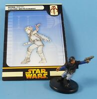 Boba Fett Young Mercenary - Star Wars Miniatures # 4E10