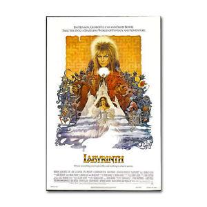LABYRINTH MOVIE  POSTER 24x36 (1986) JIM HENSON DAVID BOWIE