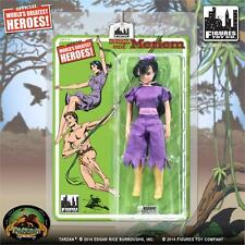 TARZAN,MERIEM  RETRO mego SERIES 1 8 INCH ACTION FIGURE  Worlds greatest heroes
