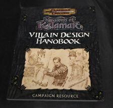 KINGDOMS OF KALAMAR VILLAIN DESIGN HANDBOOK EXC! D20 D&D Dungeons Dragons D&D
