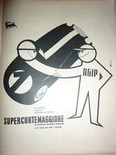 ADVERTISING PUBBLICITA' SUPERCORTEMAGGIORE ALL'ARRIVO CON I VINCITORI  --  1958