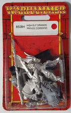 GW Warhammer High Elf Dragon Prince Command 8508H 2000 - METAL OOP MIB NEW
