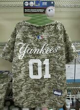 """NEW!! Pets First MLB """"YANKEES"""" Dog Jersey - CAMOUFLAGE XL"""