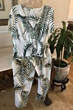 Summer Outfit Two Pieces Top Size 12 Button Size 10 H&M
