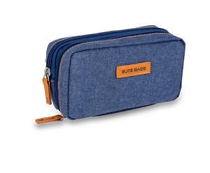 Elite Isothermal Cool Bag/ Case for Insulin and Diabetic Kit Organiser - Denim