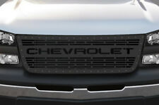 Custom Steel Aftermarket Grille for Chevy Silverado 1500/2500 2003-07 CHEVROLET