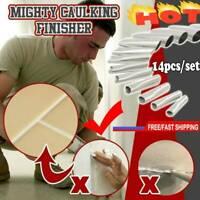 14PC Caulking Finisher Silicone Sealant Nozzle Glue Scraper Remover Nozzle R7G5