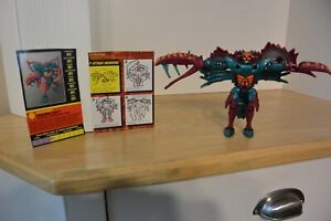 Transformers Beast Wars Razorclaw VHS edition COMPLETE figure (no VHS tape)