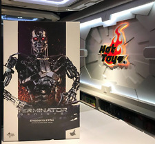 Ready 2017 MMS 352 Endoskeleton Genisys LED Light Terminator 1/6 Judgement Day