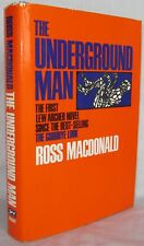 THE UNDERGROUND MAN BY ROSS MACDONALD 4TH PRINTING 1971