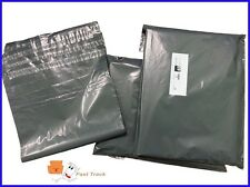 """12x16"""" LARGE STRONG GREY POSTAL SHOEBOX MAILING BAGS  [PACK OF 10] *FREE P&P***"""