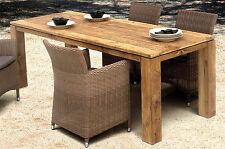 Tisch Dorado Old Teak Garten Esstisch Gartentisch Wohnen Teakholz Destiny 220cm