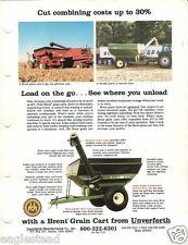 Farm Equipment Brochure - Brent - Gc470 Gc970 et al - Grain Cart - 1989 (F1641)