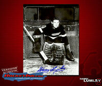 HARRY LUMLEY Signed Detroit Red Wings 8 X 10 -70013