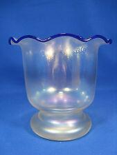 Sehr schöne irisierende Vase Glashütte Eisch / beautiful  Eisch glass vase 16,5