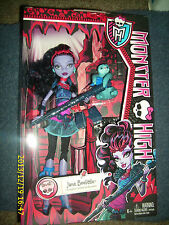MONSTER HIGH JANE BOOLITTLE DOLL DAUGHTER OF DOCTOR BOOLITTLE & VOODOO SOLTH NEW