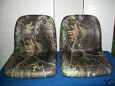TWO (2) MOSSY OAK/CAMO SEATS  FOR JD JOHN DEERE GATOR,4x2,6x4,4x4,XT,JD TURF #JZ
