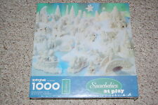 New Springbok Snowbabies at Play 1000 piece jigsaw puzzle Hallmark