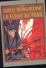 TARDI Jacques Adieu BRINDAVOINE carte postale cp postcard cartolina postkarte