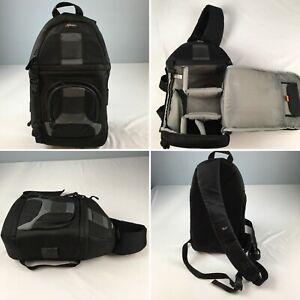 LOWEPRO SlingShot 200 AW DSLR camera bag sling Backpack black weatherproof