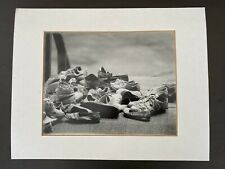 """Black White Photo Print Wall Art Picture Matted Sneakers Shoes Footwear 11x14"""""""