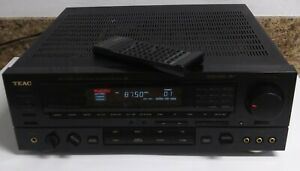 TEAC - vintage Classic AG-V3020 Audio/Video Surround RECEIVER LOUD/ Incl: remote