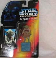 STAR WARS THE POWER OF THE FORCE YODA ACTION FIGURE NEW FREE USA SHIP