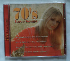 70's Love Songs music CD